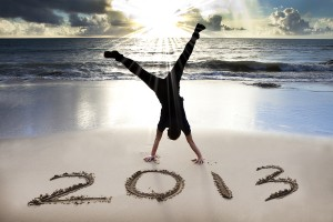 How to enjoy work and achieve more in 2013. Photo courtesy of Bigstock (2110948).