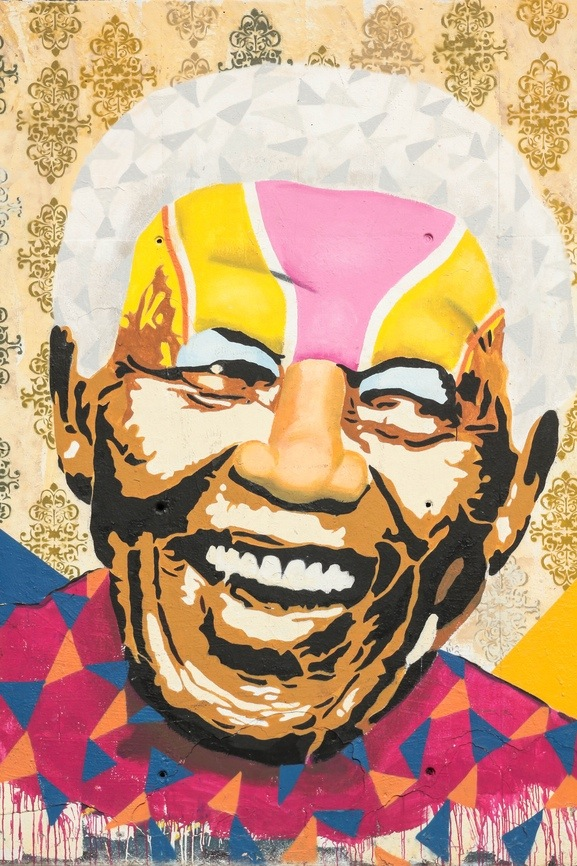 14 Leadership Lessons from the Unconquerable Soul of Nelson Mandela | EngagingLeader.com | Image courtesy of DepositPhotos.com (#18669461).