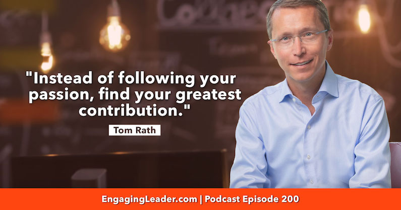 Greatest Contribution | Tom Rath